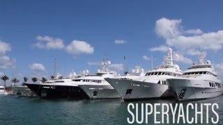 Boat Show Miami Beach Yachts