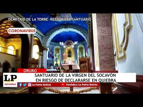 Santuario de la Virgen del Socavón en r...