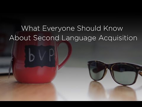 Part 1- What Everyone Should Know about Second Language Acquisition