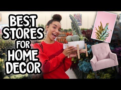 SHOP WITH ME | Home Decor!(Best Affordable Stores)