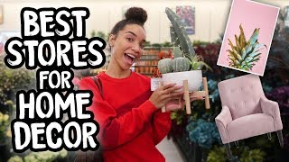 SHOP WITH ME | Home Decor!  (Best Affordable Stores)