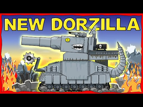"""New Dorzilla"" Cartoons About Tanks"