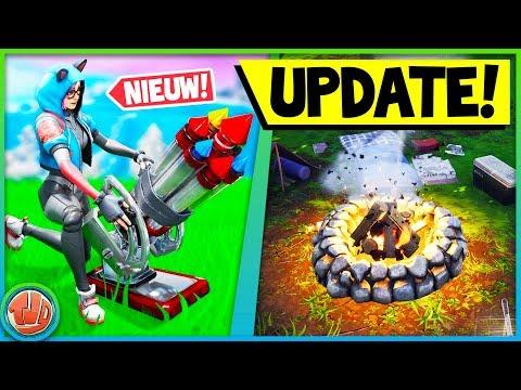 *ALLE* INFO OVER DE V7.3 UPDATE!! VAULTED WAPENS EN NIEUWE ITEMS!! - Fortnite: Battle Royale