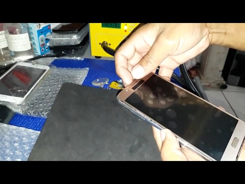 Troca da tela Samsung Galaxy j7 touch screen LCD frontal  completa  j7