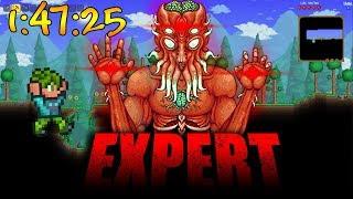 Moonlord Expert Seeded Speedrun [WR] 1:47:25