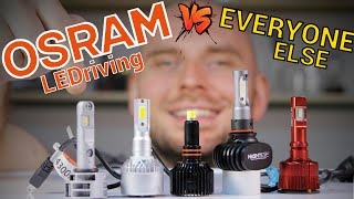 Which are the best LEDs for your car? OSRAM vs the Chinese - LED bulb test & review
