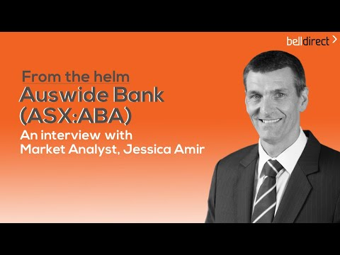 Banking On An Opportunity: Auswide Bank (ASX:ABA) CEO Martin Barrett