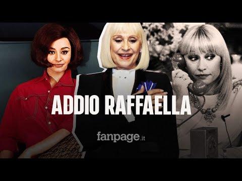 È morta Raffaella Carrà, addio alla regina della televisione italiana