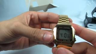 Đồng hồ đeo tay Casio A178WGA-1A