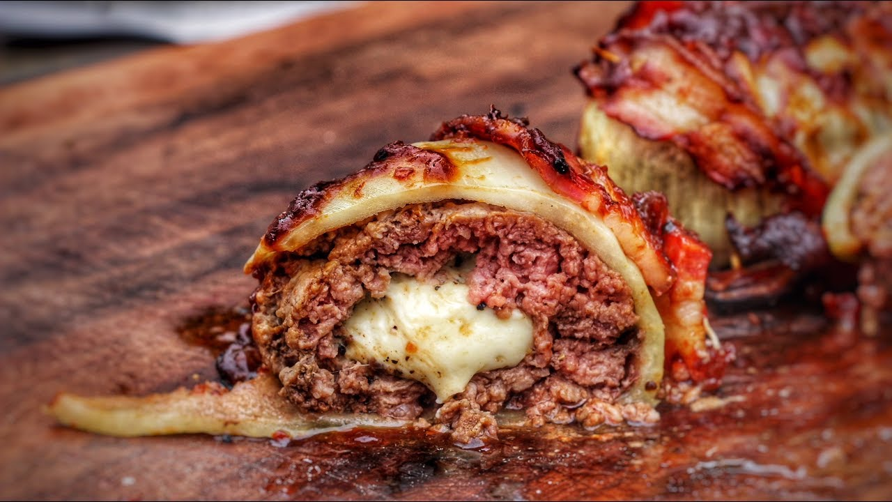 smoked onion bomb english grill and bbq recipe 0815bbq youtube