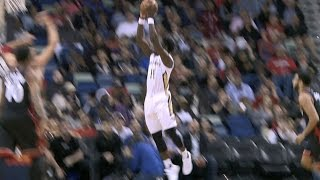 jrue holiday crosses over to a sick acrobatic reverse lay up   03 08 17