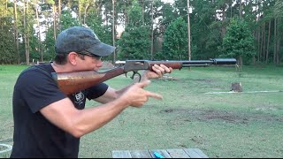 Suppressed Henry Lever Action!