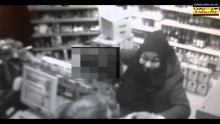Tankstellenüberfall Lustenau: Das Überwachungsvideo