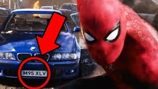 Spiderman Far From Home Every Easter Egg on License Plates Explained!