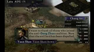 ROTK IX - 190 Commander Yuan Shao - Good Ending + Dong Bai unlocked