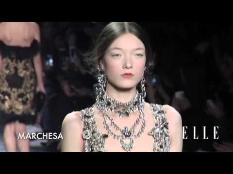 NY Fashion Week Fall 2016 | Marchesa