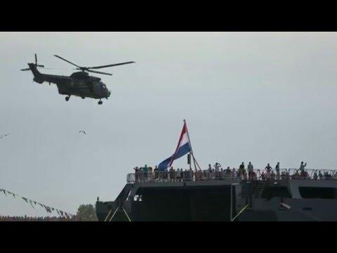 Zr.Ms.Johan de Witt; Zr.Ms. Van Speijk; Cougar (Marinedagen