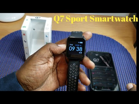 Q7 Sport Smartwatch Black