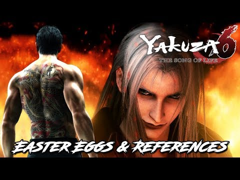 Yakuza 6 - Easter Eggs and References