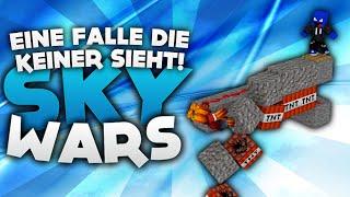 EINE FALLE DIE KEINER SIEHT! - Minecraft Sky Wars! | DieBuddiesZocken