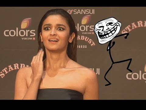 Hilarious! Alia Bhatt Trolls Media Reporters