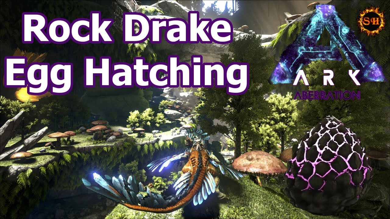 Rock Drake Egg ► Location & Hatching ► ARK: Aberration Expansion Gameplay