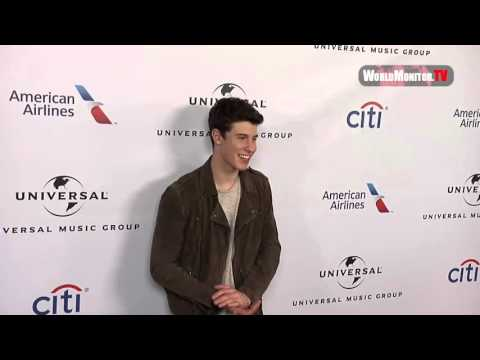 Shawn Mendes arrives at Universal Music Group