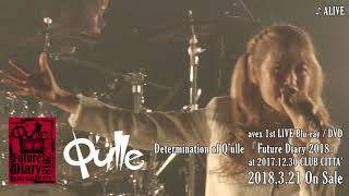3/21リリース 2018年の決意表明となった「Determination of Q'ulle Futu...