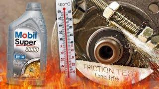 Mobil Super 3000 Formula R 5W30 Jak skutecznie olej chroni silnik? 100°C