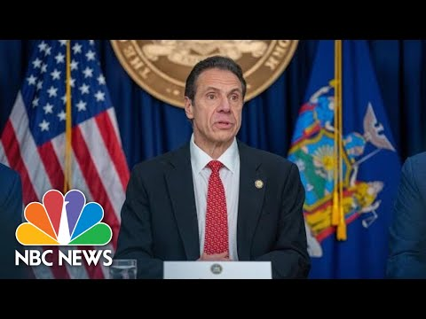 Live: New York Gov. Cuomo Holds Coronavirus Briefing | NBC News