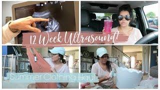 12 Week Ultrasound + Target & Cotton On Summer Haul!