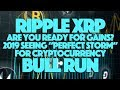"Ripple XRP: Are You Ready For Gains? 2019 Seeing ""Perfect Storm"" For Cryptocurrency Bull Run"