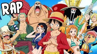 STRAW HAT PIRATES RAP CYPHER | RUSTAGE ft Nux Taku, None Like Joshua & More [One Piece]