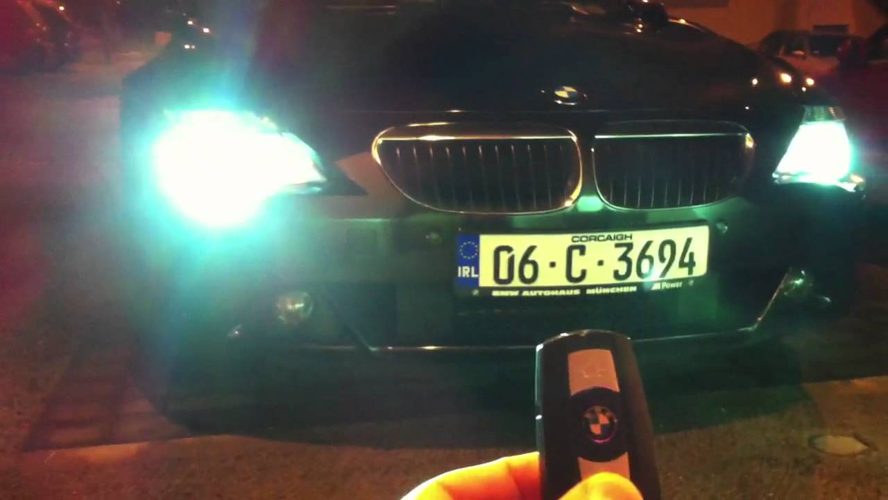 E63 BMW Pathway Lights YouTube