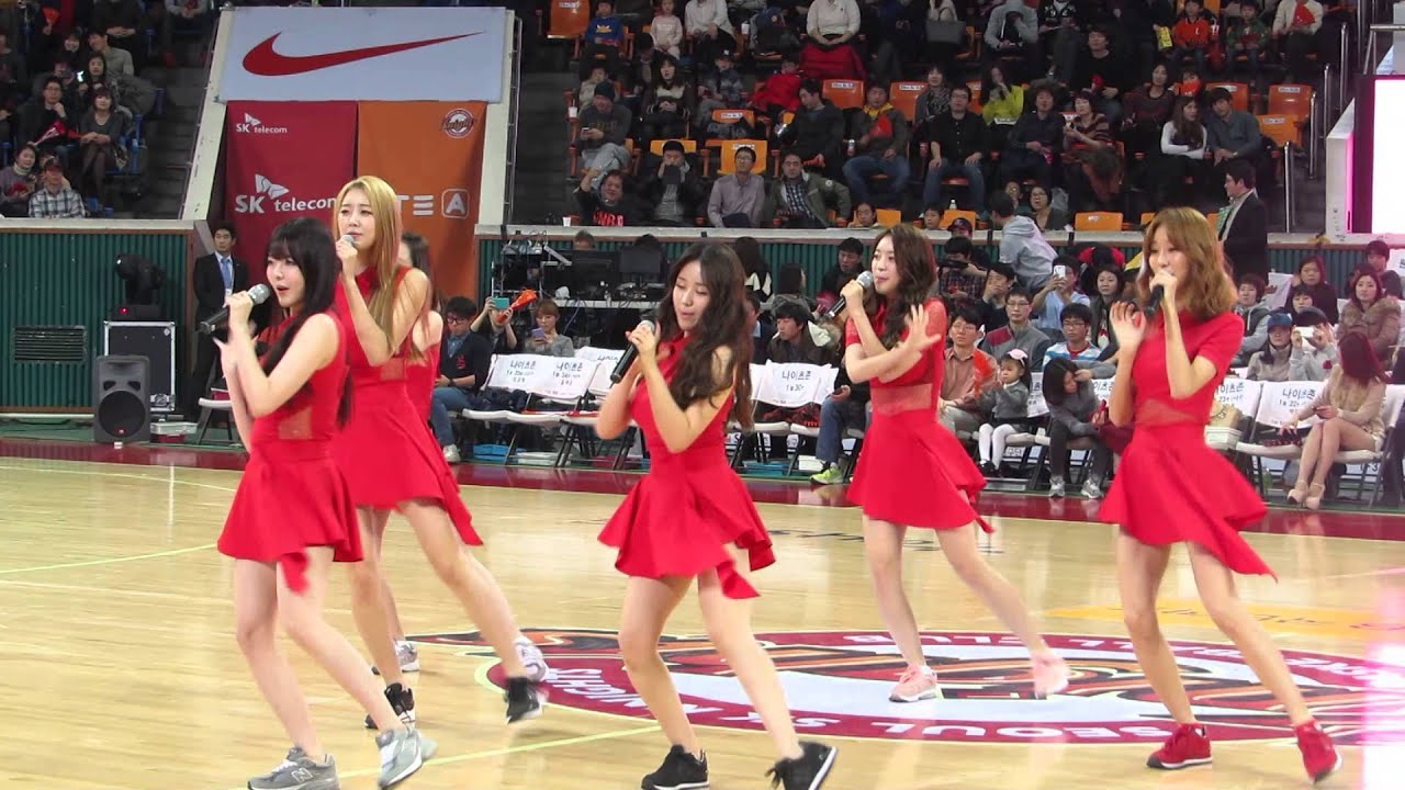 Download Be Ambitious(내 다리를 봐) -DalShabet (달샤벳) Live @  Halftime Show of KBL match