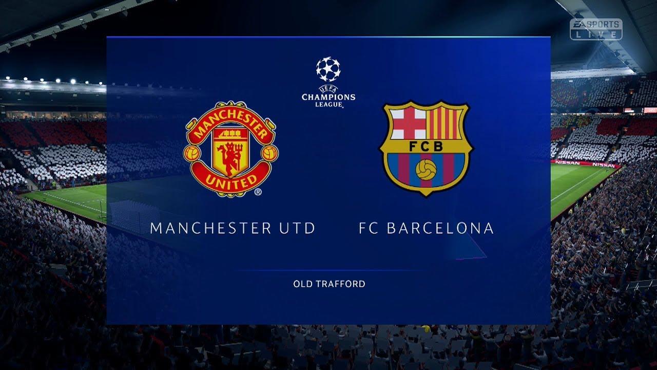MANCHESTER UNITED VS BARCELONA | CUARTOS DE FINAL - IDA - 2019 ...