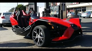 Polaris Slingshot SL Video Review 2015 ~ Can Am 3 Wheel Motorcycle Trike