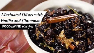Spiced Marinated Olives | Food & Wine Recipes
