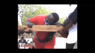 Tiger power  The strongest man in Kenya