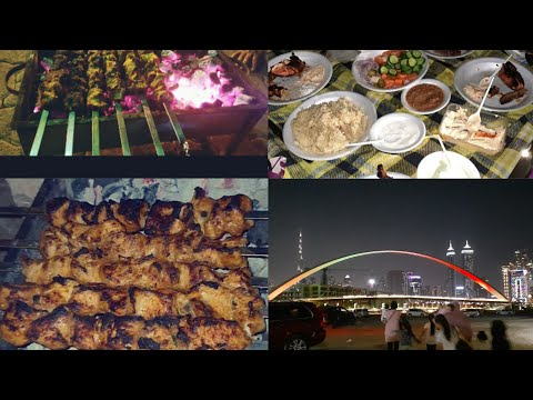 bbq at safa park😋uae national day celebration  #safapark#parkindubai#dubaipark#bbqwithfriends