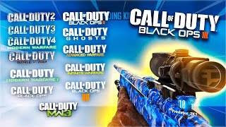 So I Played Every Call Of Duty On BO3...