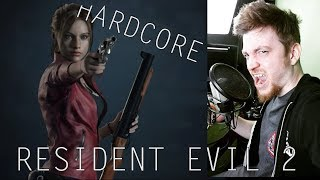 RESIDENT EVIL 2 - CLAIRE || HARDCORE #7