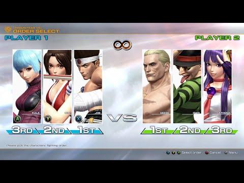 Team Battle KOF XIV || KOF XIV STEAM PC Games |