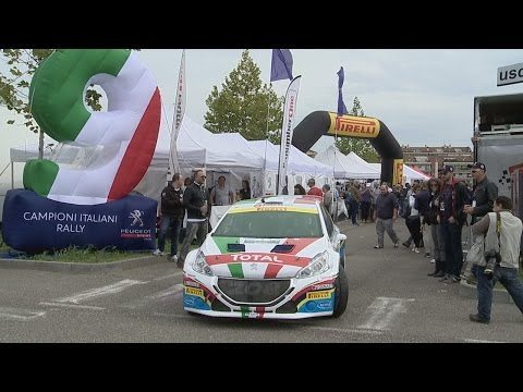 Rally Due Valli 2015   Paolo Andreucci E Peugeot 208 T16   Seconda Tappa