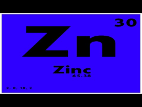 STUDY GUIDE: 30 Zinc | Periodic Table of Elements
