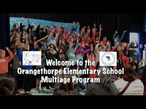 Welcome to the Multiage Program at Orangethorpe Elementary School