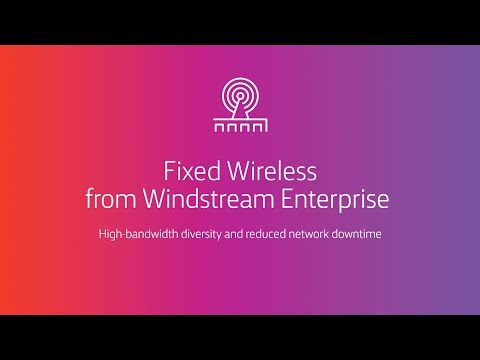 High-bandwidth diversity and reduced network downtime with Fixed Wireless