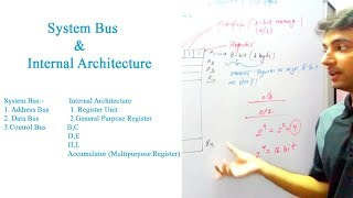Microprocessor Lecture 2 | System Bus, Internal Architecture
