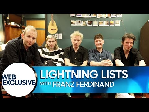 Download Youtube: Lightning Lists: Franz Ferdinand