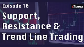 Support, Resistance Levels and Trend Line Tutorial - Learn to Trade Forex with cTrader - Episode 10